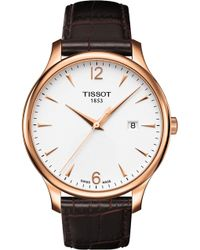Tissot - T0636103603700 T-classic Rose Gold Stainless Steel Watch - Lyst