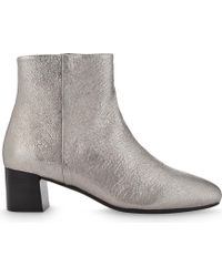 Claudie Pierlot | Adore Leather Heeled Ankle Boots | Lyst