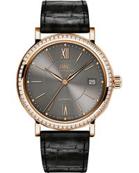 Iwc - Iw458108 Portofino Alligator-leather - Lyst