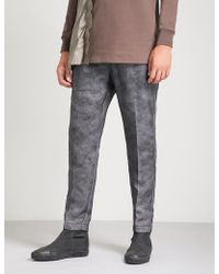 Rick Owens - Relaxed-fit Straight Organza Trousers - Lyst