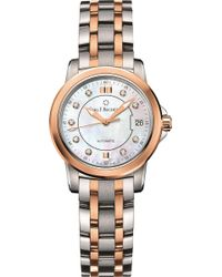 Carl F. Bucherer - Stainless Steel And 18k Rose-gold Watch - Lyst
