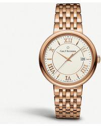 Carl F. Bucherer - 00.10311.03.15.21 Adamavi Rose-gold Sapphire Crystal Bracelet Watch - Lyst