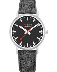 Mondaine - A660.30360.14sbh Sbb Classic Stainless Steel Watch - Lyst