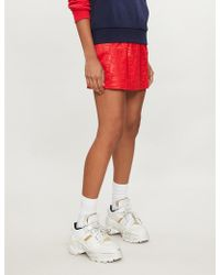 Fila - Ambra Embroidered Logo Jersey Skirt - Lyst