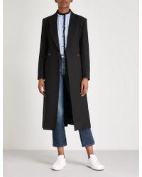 Sandro - Geranium Wool-blend Coat - Lyst