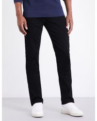 PAIGE - Federal Slim-fit Mid-rise Jeans - Lyst