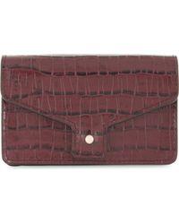 Claudie Pierlot - Maroquinerie Leather Card Holder - Lyst