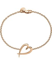 Shaun Leane - Signature Rose-gold Vermeil Heart Bracelet - Lyst