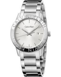 Calvin Klein - K7q21146 Steady Stainless Steel Watch - Lyst
