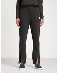 Cheap Monday - Haste Tapered Mid-rise Cotton-blend Jogging Bottoms - Lyst