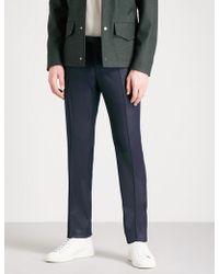 Slowear - Slim-fit Wool-flannel Trousers - Lyst
