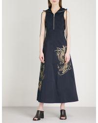 Angel Chen - Zipped Shell Dress - Lyst