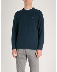 BOSS Orange - Cotton-knitted Jumper - Lyst