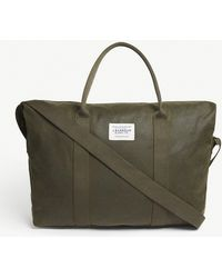 Barbour - Archive Waxed Cotton Duffel Bag - Lyst