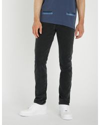 Off-White c/o Virgil Abloh - Gradient Slim-fit Tapered Jeans - Lyst