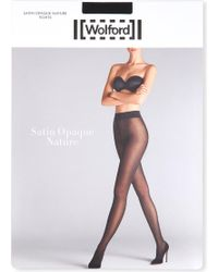 Wolford - Satin Opaque Nature Tights - Lyst