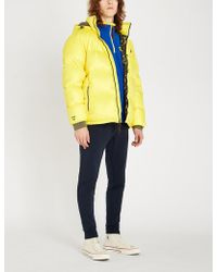 Polo Ralph Lauren - Jackson Printed Shell And Down-blend Jacket - Lyst
