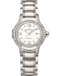 Carl F. Bucherer - 00.10580.08.25.31.01 Pathos Diva Mother-of-pearl Diamonds And Sapphire Crystal Watch - Lyst