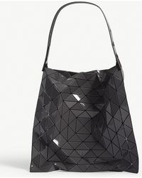 aa1d0cf2c7 Lyst - Bao Bao Issey Miyake Platinum-2 Small Prism Shopper in Black