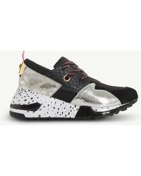 Steve Madden - Cliff Leather Trainers - Lyst