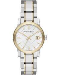 Burberry - Bu9115 The City Stainless Steel Watch - Lyst