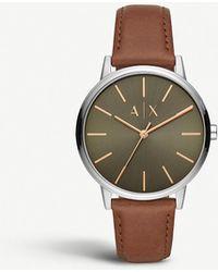 e0fe01a4595a9 Armani Exchange Axt2002 Drexler Cayde Connected Bracelet Smart Watch in  Black for Men - Lyst