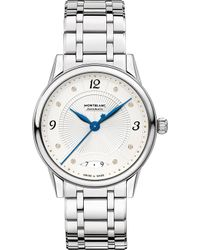 Montblanc - 114733 Boheme Diamond And Stainless Steel Watch - Lyst