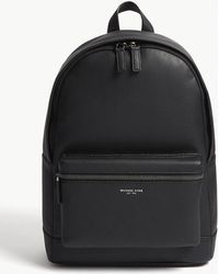Michael Kors - Bryant Pebbled Leather Backpack - Lyst