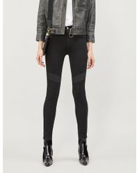 Lee Jeans - Scarlett Base Shade Skinny High-rise Jeans - Lyst