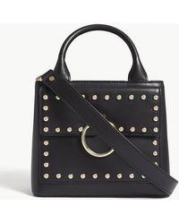 Claudie Pierlot - Anouck Studded Leather Shoulder Bag - Lyst