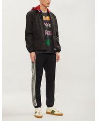 Gucci - Logo-print Shell Windbreaker Jacket - Lyst