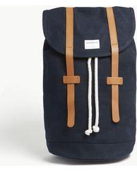 Sandqvist | Stig Cotton Canvas Backpack | Lyst