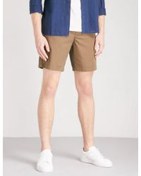Sandro - Pocketed Stretch-cotton Shorts - Lyst