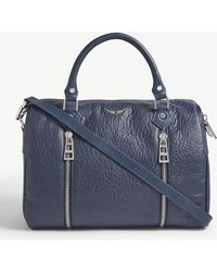 Zadig & Voltaire - Sunny Leather Bowling Bag - Lyst
