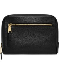 Mon Purse - Leather Wash Bag - Lyst