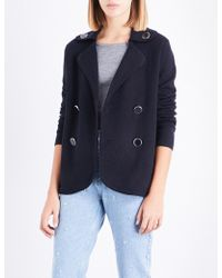 Claudie Pierlot | Double-breasted Knitted Cardigan | Lyst