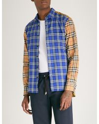 Burberry - Goodhall Regular-fit Cotton-poplin Shirt - Lyst