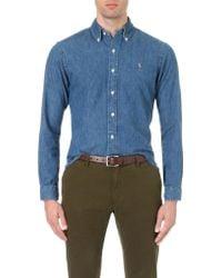 Polo Ralph Lauren - Slim-fit Denim Sport Shirt - Lyst