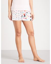 Peter Alexander - Confetti Cotton Pyjama Shorts - Lyst