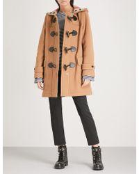 Burberry - Mersey Wool-blend Duffle Coat - Lyst