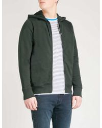 PS by Paul Smith | Zip-up Cotton-jersey Hoody | Lyst