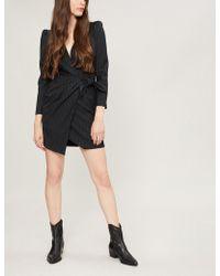 Ba&sh - Pinstriped Woven Mini Dress - Lyst