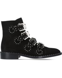 Givenchy - Prue Suede Ankle Boots - Lyst