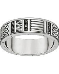 Thomas Sabo - Nile Treasures Sterling Silver Filigree Ring - Lyst