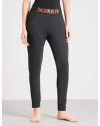 Calvin Klein | Intense Power Stretch-jersey Trousers | Lyst