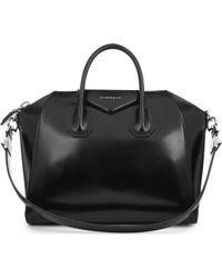Givenchy - Antigona Medium Leather Tote - Lyst