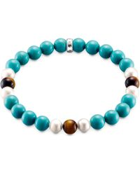 Thomas Sabo - Rebel At Heart Turquoise Bracelet - Lyst