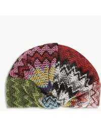 Missoni - Metallic Turban - Lyst