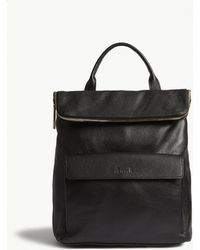 Whistles   Verity Grained Leather Backpack   Lyst