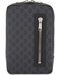 804fbd8efe6 Gucci Gg Supreme Canvas Carry-on Pilot Case in Gray for Men - Lyst
